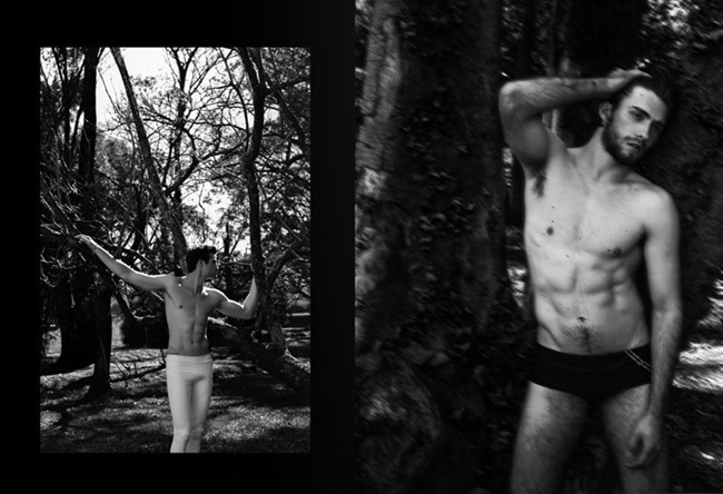 MASCULINE DOSAGE Tiago Bariqueli & Tauan in The Giant Forest by Junior Franch. Andre Puertas, Spring 2014, www.imageamplified.com, Image Amplified (3)