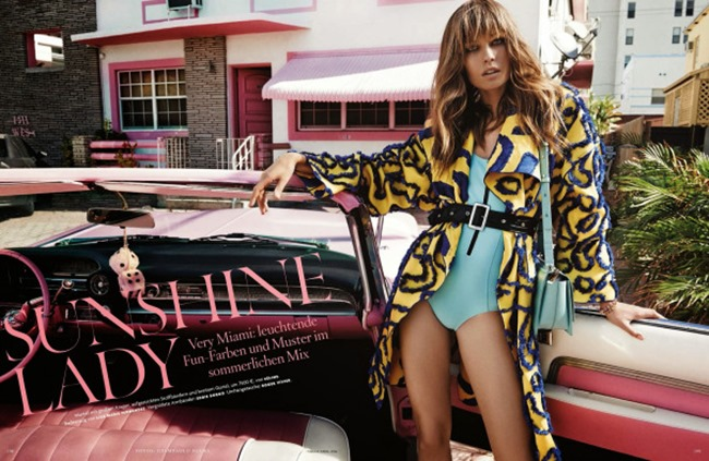 VOGUE GERMANY Nadja Bender in Sunshine Lady by Giampaolo Sgura. Claudia Englmann, April 2014, www.imageamplified.com, Image Amplified (1)