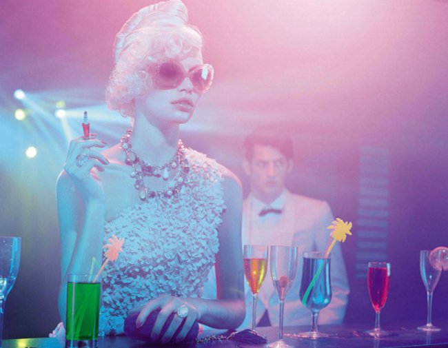 VOGUE ITALIA Aline Weber in A Dazzling Party by Miles Aldridge. Alice Gentilucci, March 2014, www.imageamplified.com, Image Amplified (3)