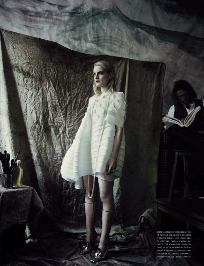 VOGUE ITALIA Guinever Van Seenus by Paolo Roversi. Julien D'Ys, March 2014, www.imageamplified.com, Image Amplified (8)