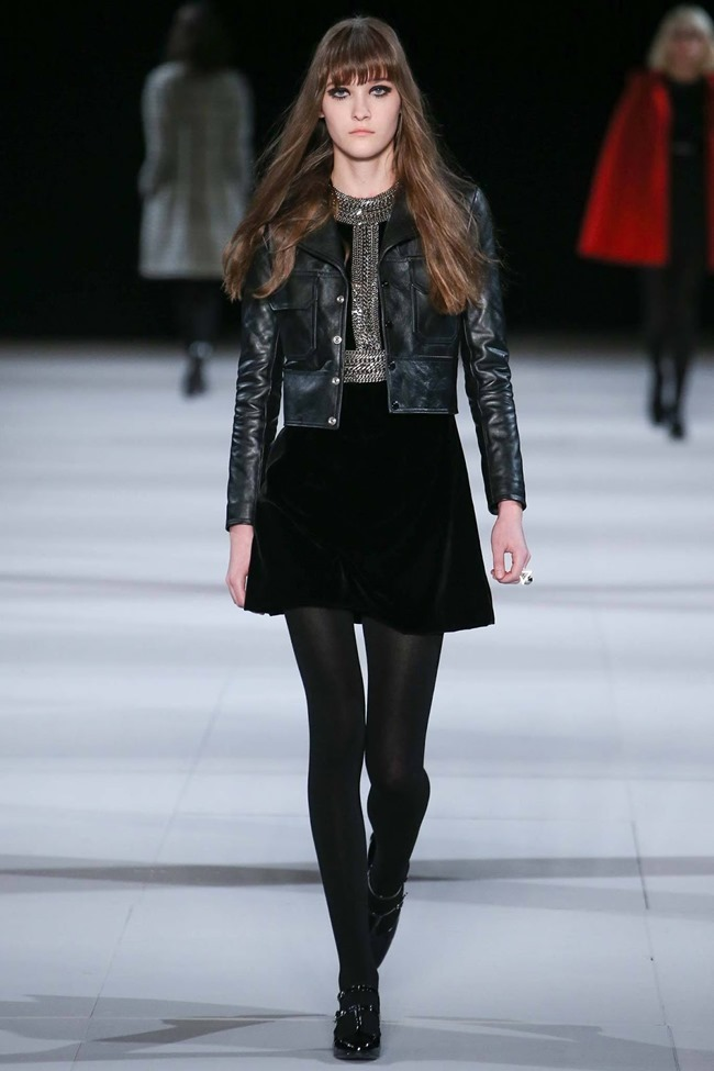 PARIS FASHION WEEK Saint Laurent RTW Fall 2014. www.imageamplified.com, Image Amplified (11)