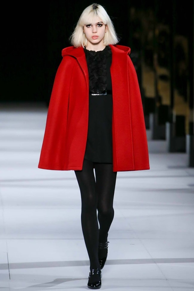 PARIS FASHION WEEK Saint Laurent RTW Fall 2014. www.imageamplified.com, Image Amplified (12)