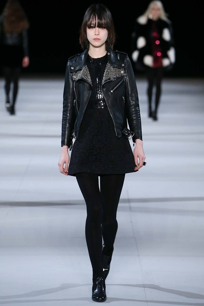 PARIS FASHION WEEK Saint Laurent RTW Fall 2014. www.imageamplified.com, Image Amplified (13)