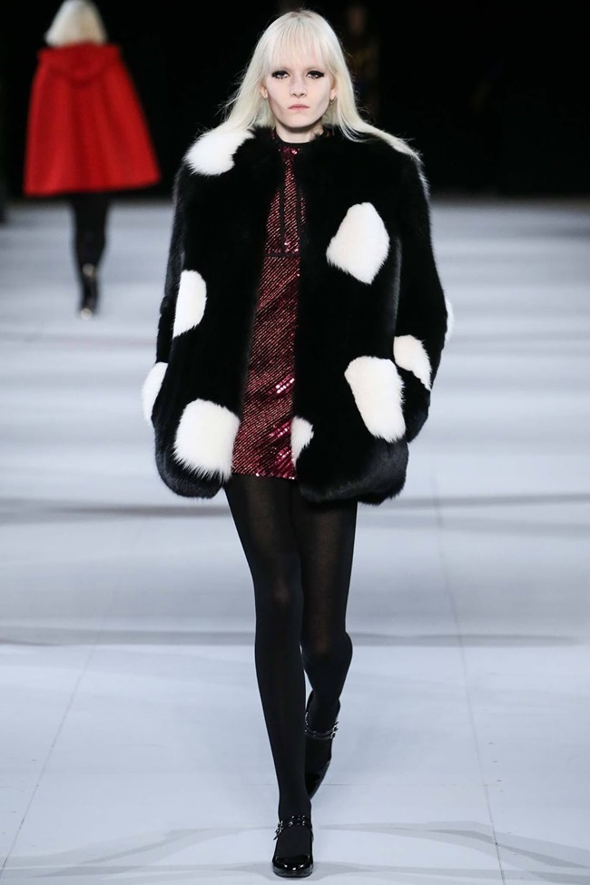 PARIS FASHION WEEK Saint Laurent RTW Fall 2014. www.imageamplified.com, Image Amplified (14)