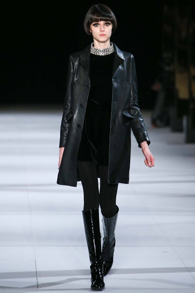 PARIS FASHION WEEK Saint Laurent RTW Fall 2014. www.imageamplified.com, Image Amplified (22)