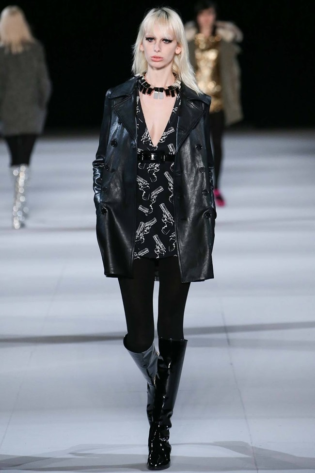 PARIS FASHION WEEK Saint Laurent RTW Fall 2014. www.imageamplified.com, Image Amplified (38)
