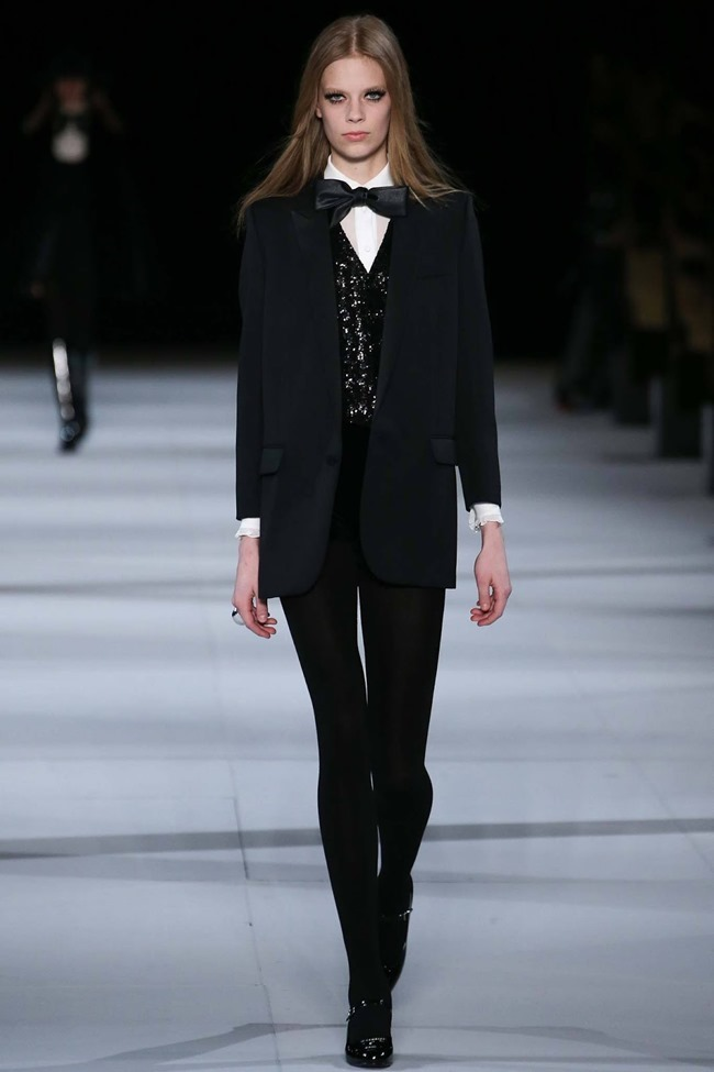 PARIS FASHION WEEK Saint Laurent RTW Fall 2014. www.imageamplified.com, Image Amplified (47)