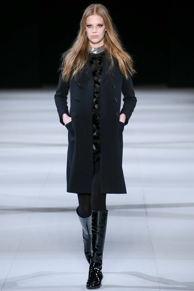 PARIS FASHION WEEK Saint Laurent RTW Fall 2014. www.imageamplified.com, Image Amplified (50)