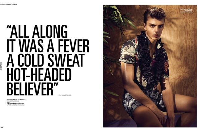 DSECTION MAGAZINE Daan Van Der Deen & Baptiste Giannesini in All Along It Was A Fever by Nicolas Valois. Darryl Rodrigues, Spring 2014, www.imageamplified.com, Image Amplified (9)