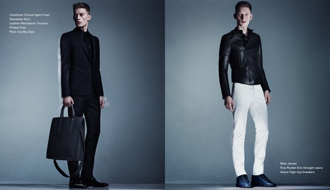 CAMPAIGN Bastian Thiery in Balenciaga Men Spring 2014 for Barneys New York. www.imageamplified.com, Image Amplified (3)