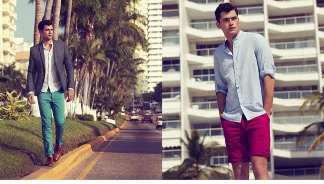 CAMPAIGN Sean O'Pry in Casual Tailoring for H&M Spring 2014. www.imageamplified.com, Image Amplified (4)