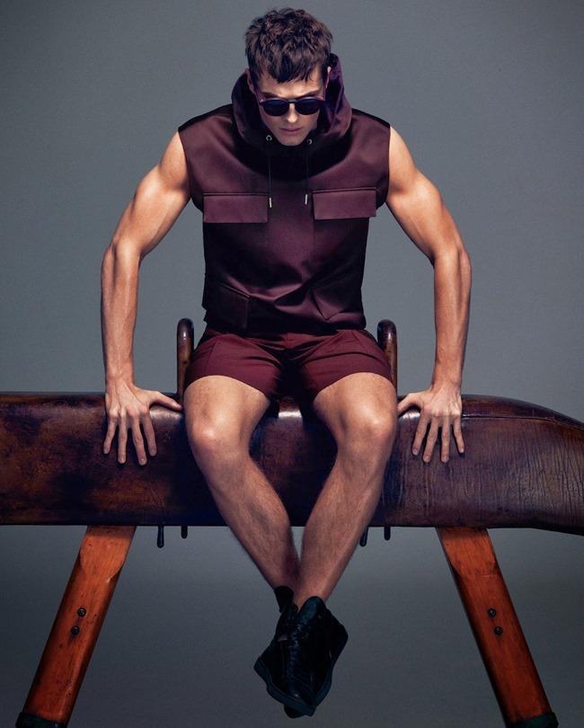 HOW TO SPEND IT MAGAZINE Edward Wilding in Sportswear Inspired Menswear by Damian Foxe. Spring 2014, www.imageamplified.com, Image Amplified (6)