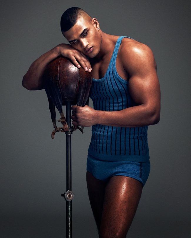 HOW TO SPEND IT MAGAZINE Edward Wilding in Sportswear Inspired Menswear by Damian Foxe. Spring 2014, www.imageamplified.com, Image Amplified (1)