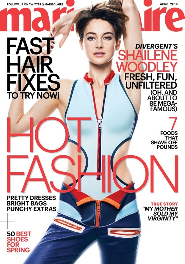 MARIE CLAIRE MAGAZINE Shailene Woodley by Jan Welters. April 2014, www.imageamplified.com, Image Amplified (5)