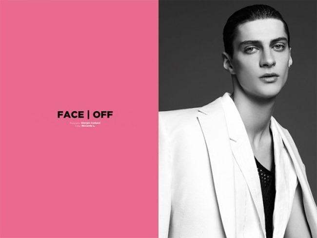 PUNKT MAGAZINE Face Off by Giorgio Codazzi. Riccardo Linarello, Spring 2014, www.imageamplified.com, Image Amplified (1)