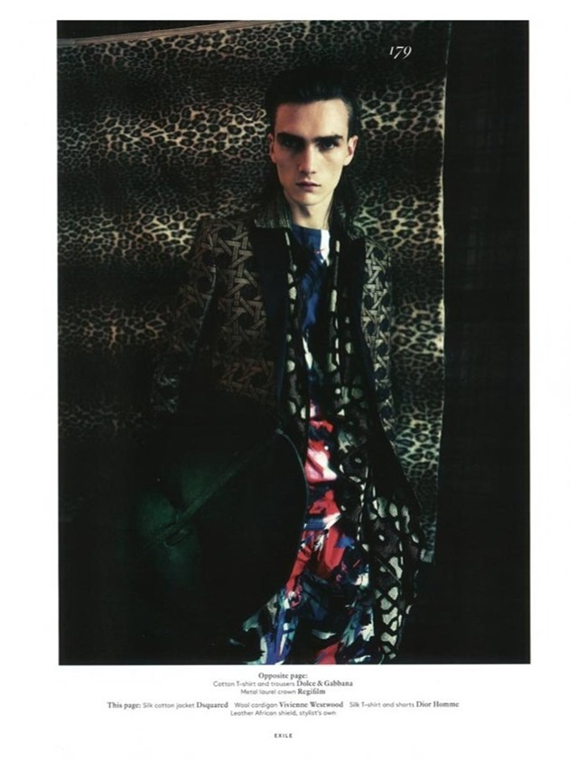 VOGUE HOMMES INTERNATIONAL Gryphon O'Shea in Exhile by Paolo Roversi. Spring 2014, www.imageamplified.com, Image Amplified (7)