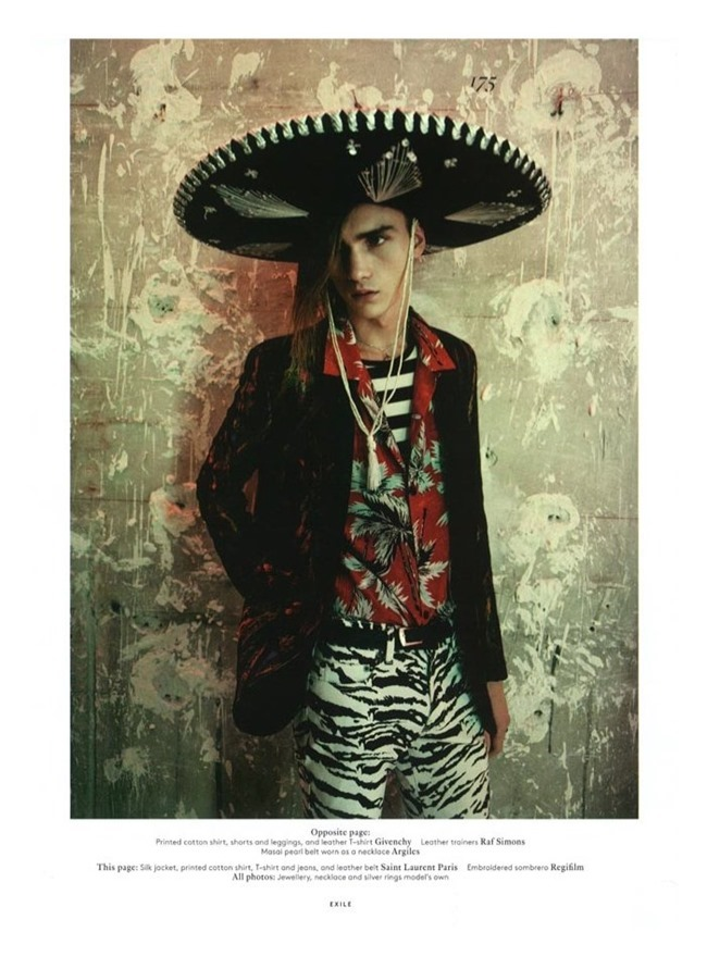 VOGUE HOMMES INTERNATIONAL Gryphon O'Shea in Exhile by Paolo Roversi. Spring 2014, www.imageamplified.com, Image Amplified (10)