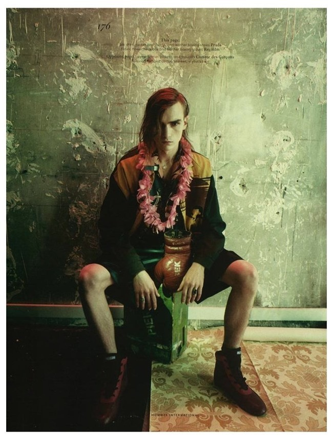 VOGUE HOMMES INTERNATIONAL Gryphon O'Shea in Exhile by Paolo Roversi. Spring 2014, www.imageamplified.com, Image Amplified (3)