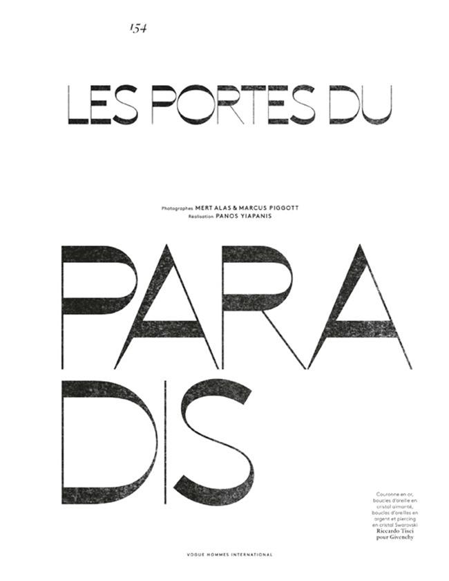 VOGUE HOMMES INTERNATIONAL Filip Hrivnak, Kaylan Morgan & Chad White in Les Portes Du Paradis by Mert & Marcus. Panos Yiapanis, Spring 2014, www.imageamplified.com, Image Amplified (16)