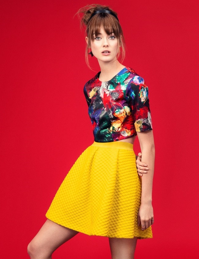 CAMPAIGN Jac Jagaciak in Gallery Girl for H&M  Spring 2014, www.imageamplified.com, Image Amplified (12)