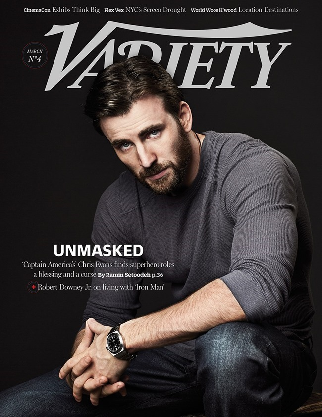 VARIETY MAGAZINE Chris Evans by Danielle Levitt. Spring 2014, www.imageamplified.com, Image amplified (1)