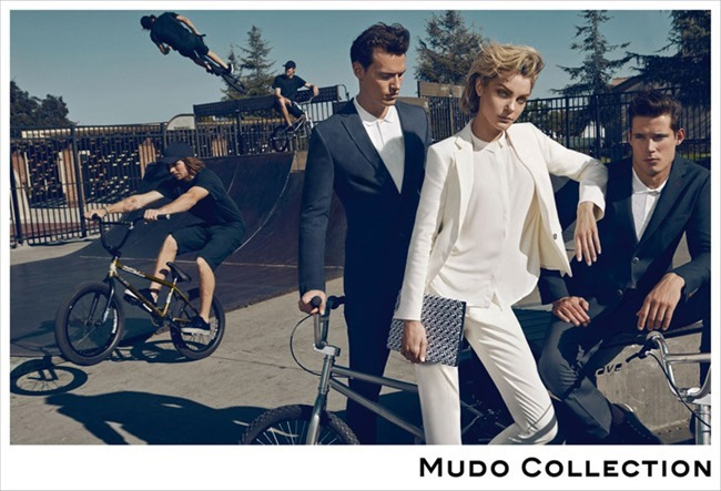 CAMPAIGN Jessica Stam, Henry Barnacle & Danny Schwarz for Mudo Spring 2014 by Koray Birand. www.imageamplified.com, Image Amplified (1)