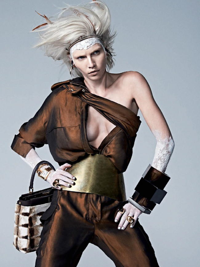 VOGUE BRAZIL Aline Weber in Guerreira Urbana by Zee Nunes. Pedro Sales, April 2014, www.imageamplified.com, Image Amplified (2)