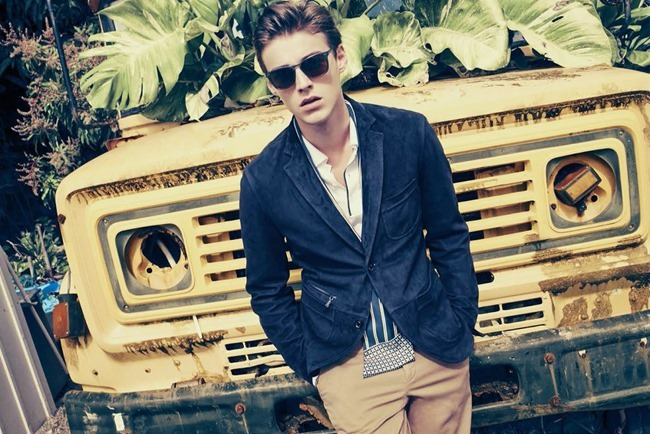 BERGDORF GOODMAN Robbie Wadge in Another Day In Paradise by Arnaud Pyvka. Bruce Pask, Spring 2014, www.imageamplified.com, Image amplified (6)