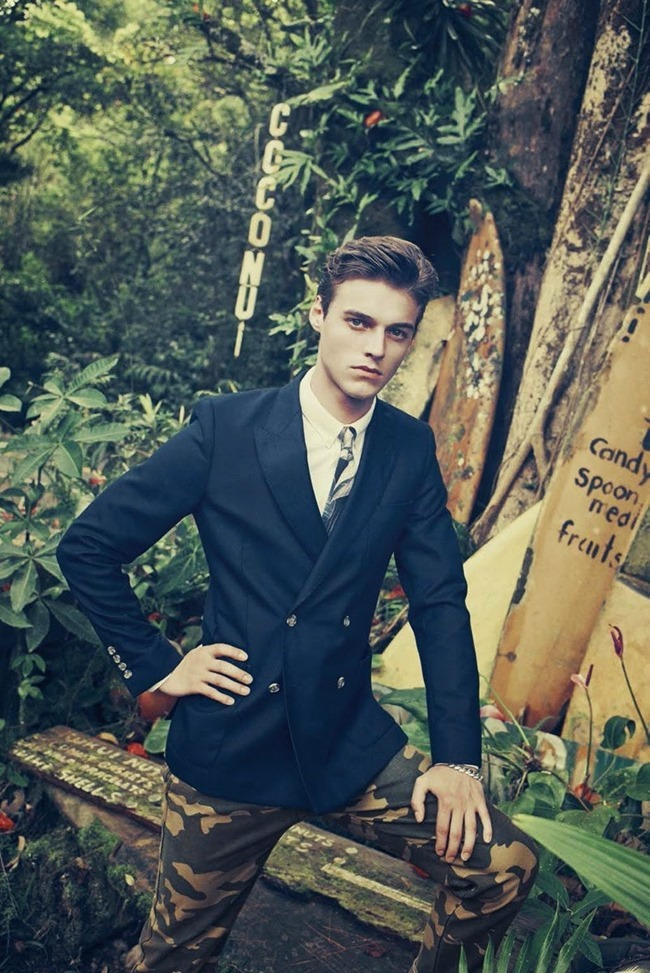 BERGDORF GOODMAN Robbie Wadge in Another Day In Paradise by Arnaud Pyvka. Bruce Pask, Spring 2014, www.imageamplified.com, Image amplified (3)