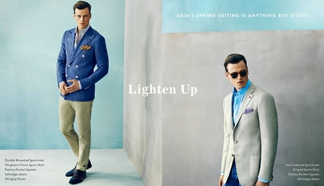CAMPAIGN Lars Burmeister in Lighten Up for Barneys New York Spring 2014. www.imageamplified.com, Image Amplified (2)