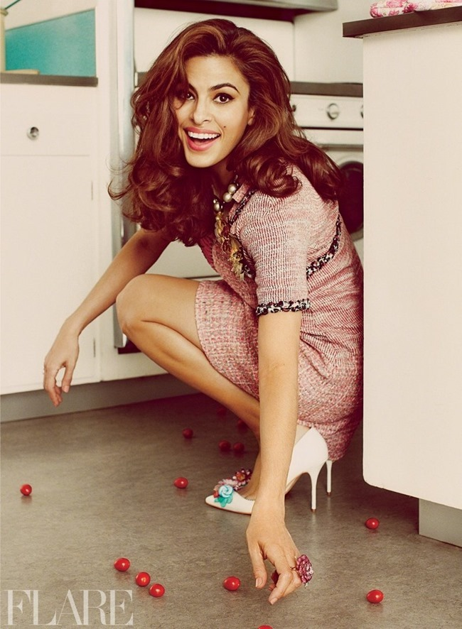 FLARE MAGAZINE Eva Mendes by Guy Aroch. Hayley Atkin, May 2014, www.imageamplified.com, Image Amplified (3)