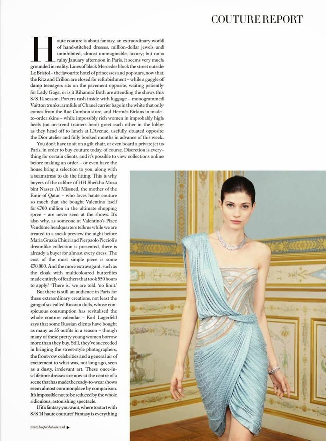 HARPER'S BAZAAR UK Larissa Hofmann in The Height Of Luxury by Thomas Lohr. Cathy Kasterine, May 2014, www.imageamplified.com, Image Amplified (3)