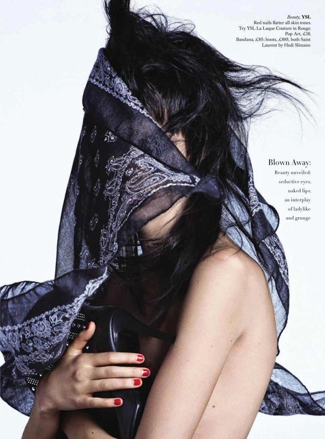 HARPER'S BAZAAR UK Beauty & The Best by Johnny Dufort. Carine Roitfeld, May 2014, www.imageamplified.com, Image Amplified (7)
