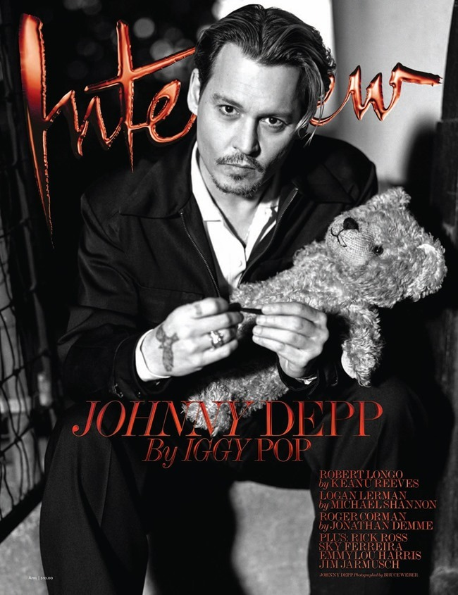 INTERVIEW MAGAZINE Johnny Depp by Bruce Weber. Karl Templer, April 2014, www.imageamplified.com, Image Amplified (2)