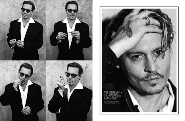 INTERVIEW MAGAZINE Johnny Depp by Bruce Weber. Karl Templer, April 2014, www.imageamplified.com, Image Amplified (4)