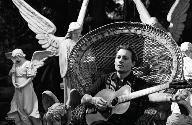 INTERVIEW MAGAZINE Johnny Depp by Bruce Weber. Karl Templer, April 2014, www.imageamplified.com, Image Amplified (5)