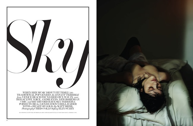 INTERVIEW MAGAZINE Sky Ferreira in Sky by Chris Colls. Elin Svahn, April 2014, www.imageamplified.com, Image Amplified (3)