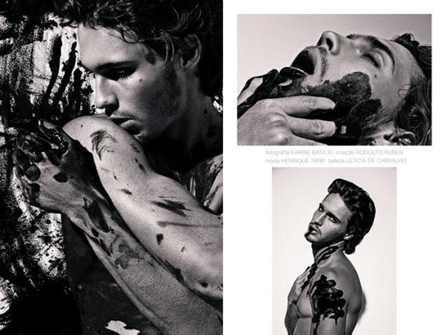 ROMEU MAGAZINE Lucas Medeiros by Karine Basilio. Henrique Tank, Spring 2014, www.imageamplified.com, Image Amplified (2)