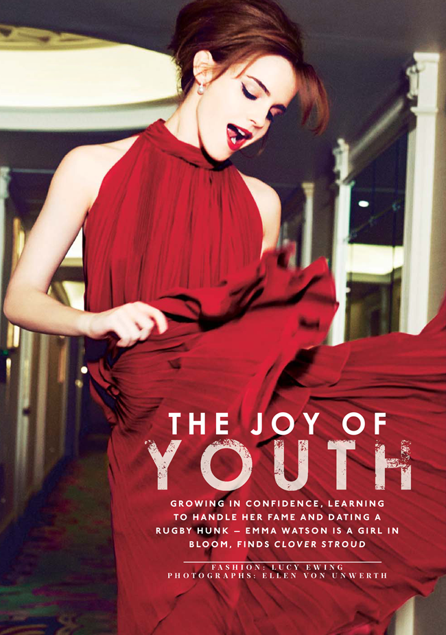 THE SUNDAY TIMES STYLE Emma Watson in The Joy of Youth by Ellen von Unwerth. Lucy Ewing, March 2014, www.imageamplified.com, Image Amplified (3)