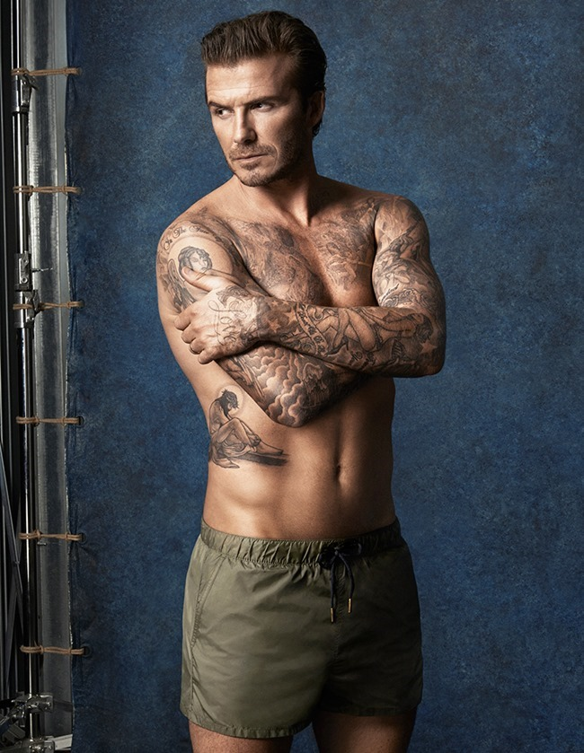 CAMPAIGN David Beckham in David Beckham Swimwear for H&M Summer 2014. www.imageamplified.com, Image Amplified (3)