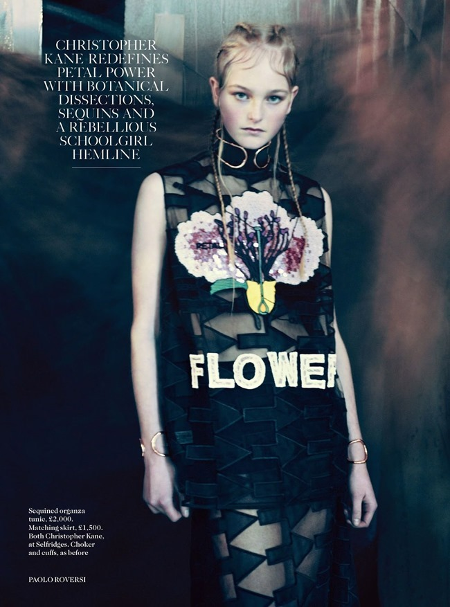 VOGUE UK Jean Campbell in Garden Display by Paolo Roversi. Francesca Burns, May 2014, www.imageamplified.com, Image Amplified (6)