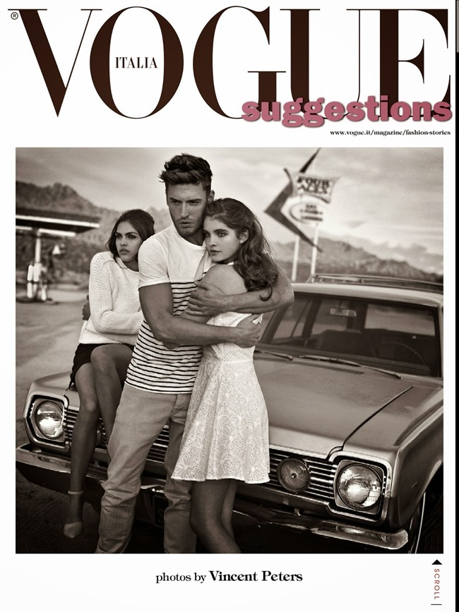 VOGUE ITALIA Suggestions by Vincent Peters. Valentina Serra, April 2014, www.imageamplified.com, Image Amplified (16)