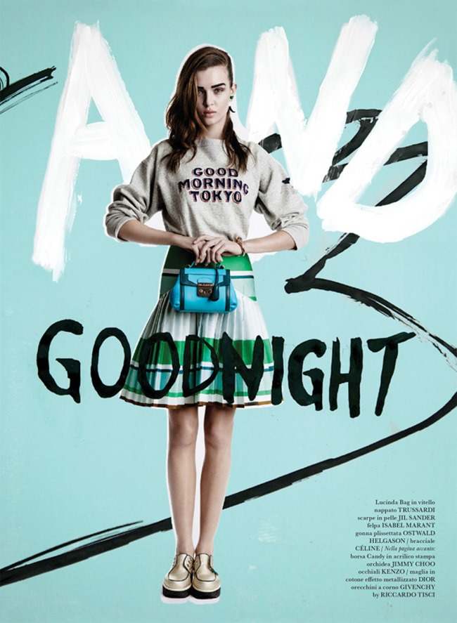 FLAIR MAGAZINE Josephine Skriver in Graffiti & Good Night by Quentin Jones. Darcy Backlar, April 2014, www.imageamplified.com, Image Amplified (2)