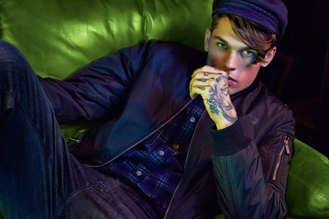 CAMPAIGN Stephen James for William Roast Spring 2014 by Max Abadian. Oliva Le Blanc, www.imageamplified.com, Image Amplified (1)