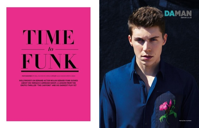 DAMAN MAGAZINE Nolan Gerard Funk in Time to Funk by Mitchell Nguyen McCormack. Spring 2014, www.imageamplified.com, Image Amplified (2)