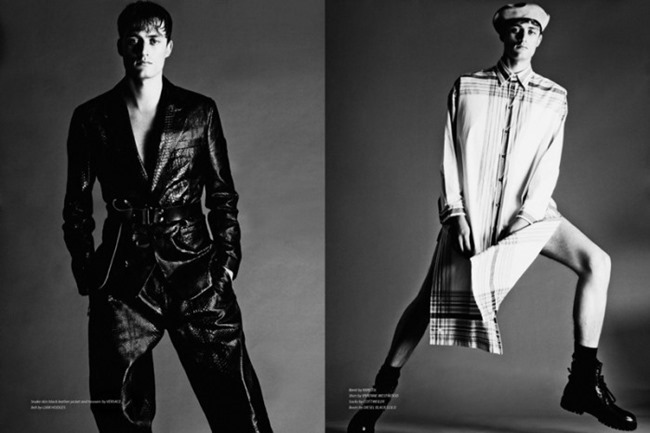 ESSENTIAL HOMME Bastiaan Van Gaalen in Hard Knocks by Arcin Sagdic, Spring 2014, www.imageamplified.com, Image Amplified (4)