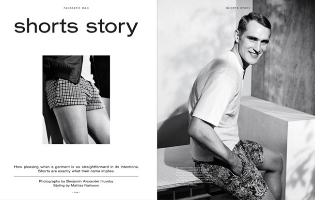 FANTASTIC MAN MAGAZINE Will Chalker in Shorts Story by Benjamin Alexander Huseby. Mattias Karlsson, Spring 2014, www.imageamplified.com, Image Amplified (2)