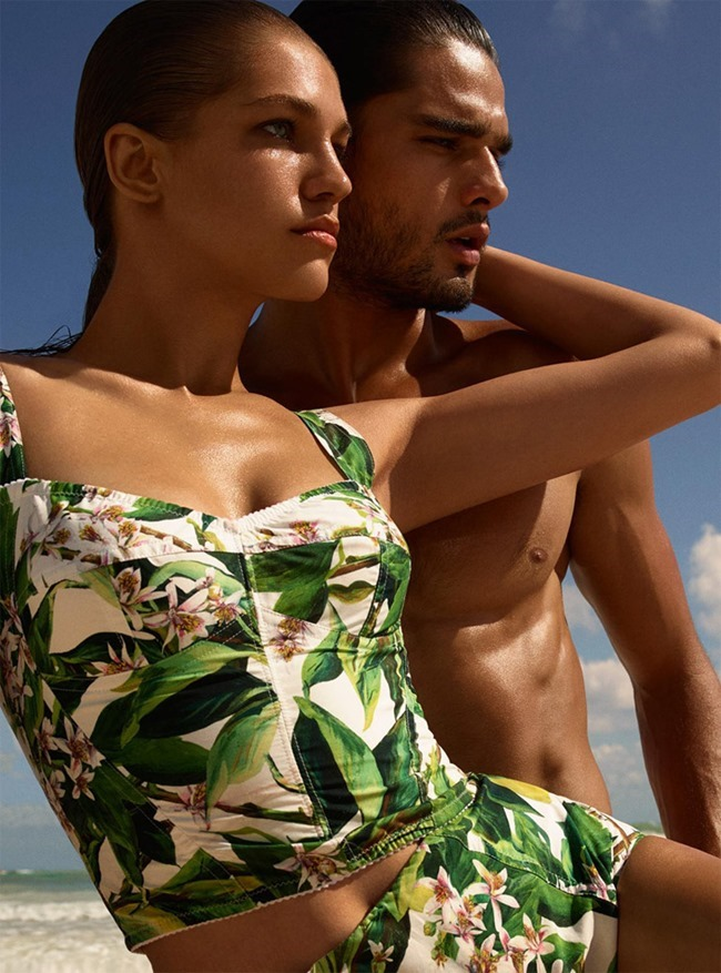HARPER'S BAZAAR GERMANY Marlon Teixeira & Samantha Gradoville in A Bigger Splash by Miguel Reveriego. Antje Winter, April 2014, www.imageamplified.com, Image Amplified