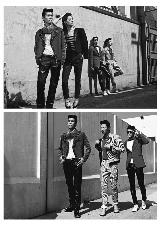 HARPER'S BAZAAR MEN HONG KONG Yang Liu, Wayne Lau, Allen Y & Zhang Xue by Man Tsang, Anson Lau, Spring 2014, www.imageamplified.com, Image Amplified (8)