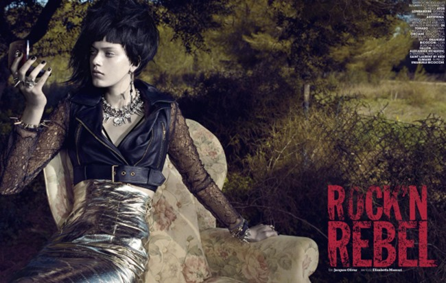 MARIE CLAIRE ITALIA Tess Hellfeuer in Rock n Rebel by Jacques Olivar. Elisabetta Massari, April 2014, www.imageamplified.com, Image Amplified (3)